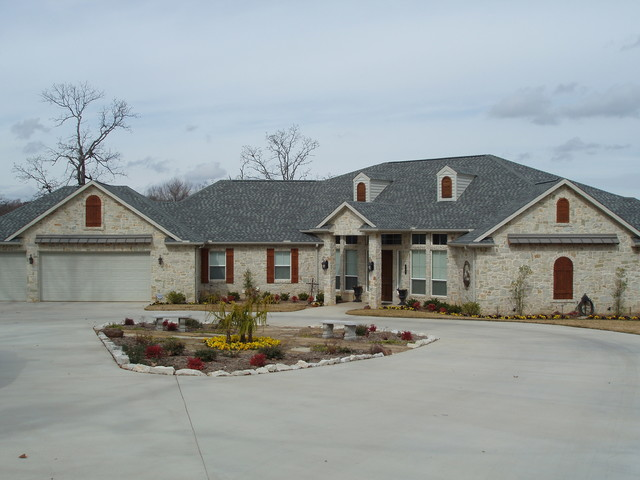 New Construction in Tool TX 0710 traditional exterior