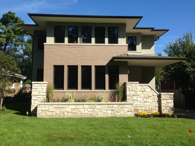 New Construction Modern Prairie Style Winnetka Il