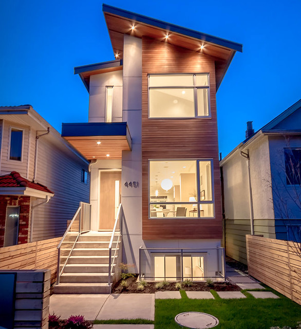 New contemporary infill East Vancouver