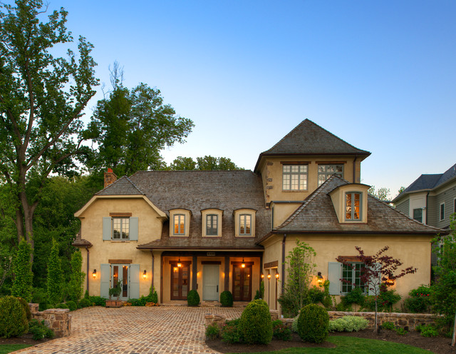 french country homes exterior