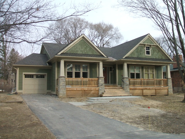 New Craftsman Home