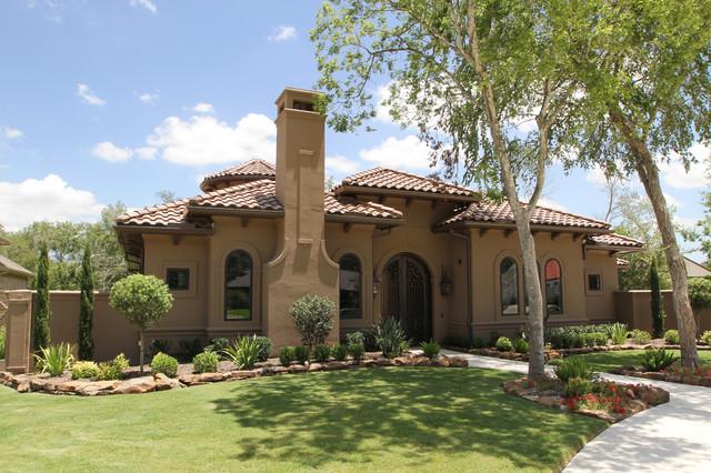 New Custom Home By Fairmont Custom Homes Mediterranean