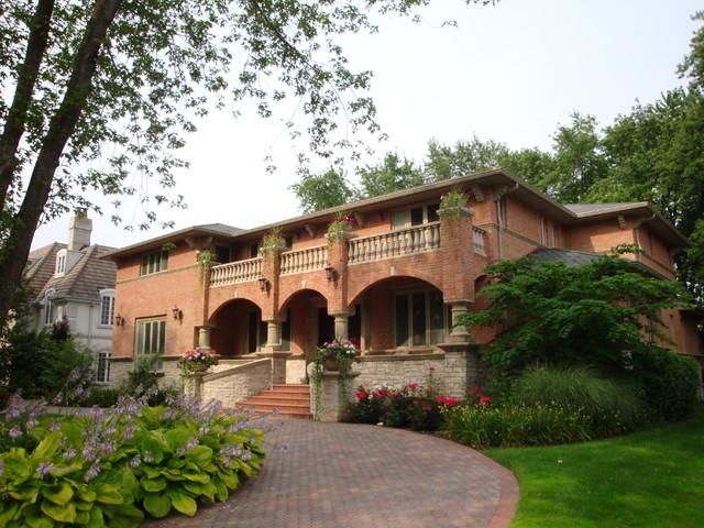 New Custom Home mediterranean-exterior
