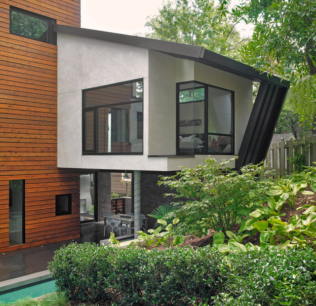 Houzz Home Design Ideas: New Custom Modern Single Family Home