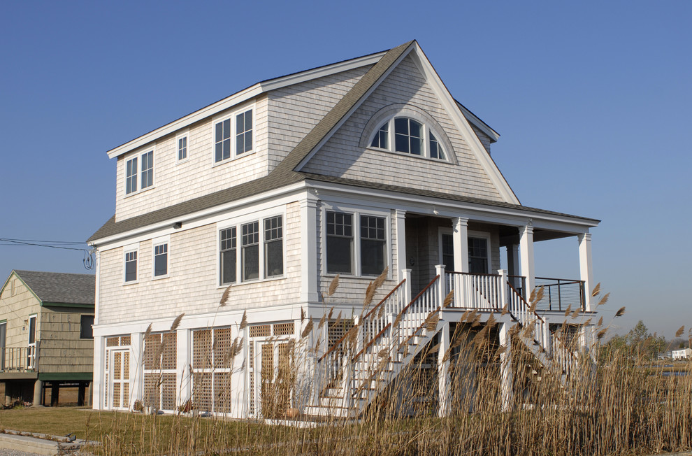 New England Beach House Transitional