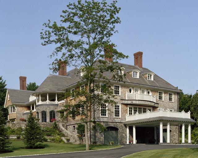 New England Estate Traditional Exterior