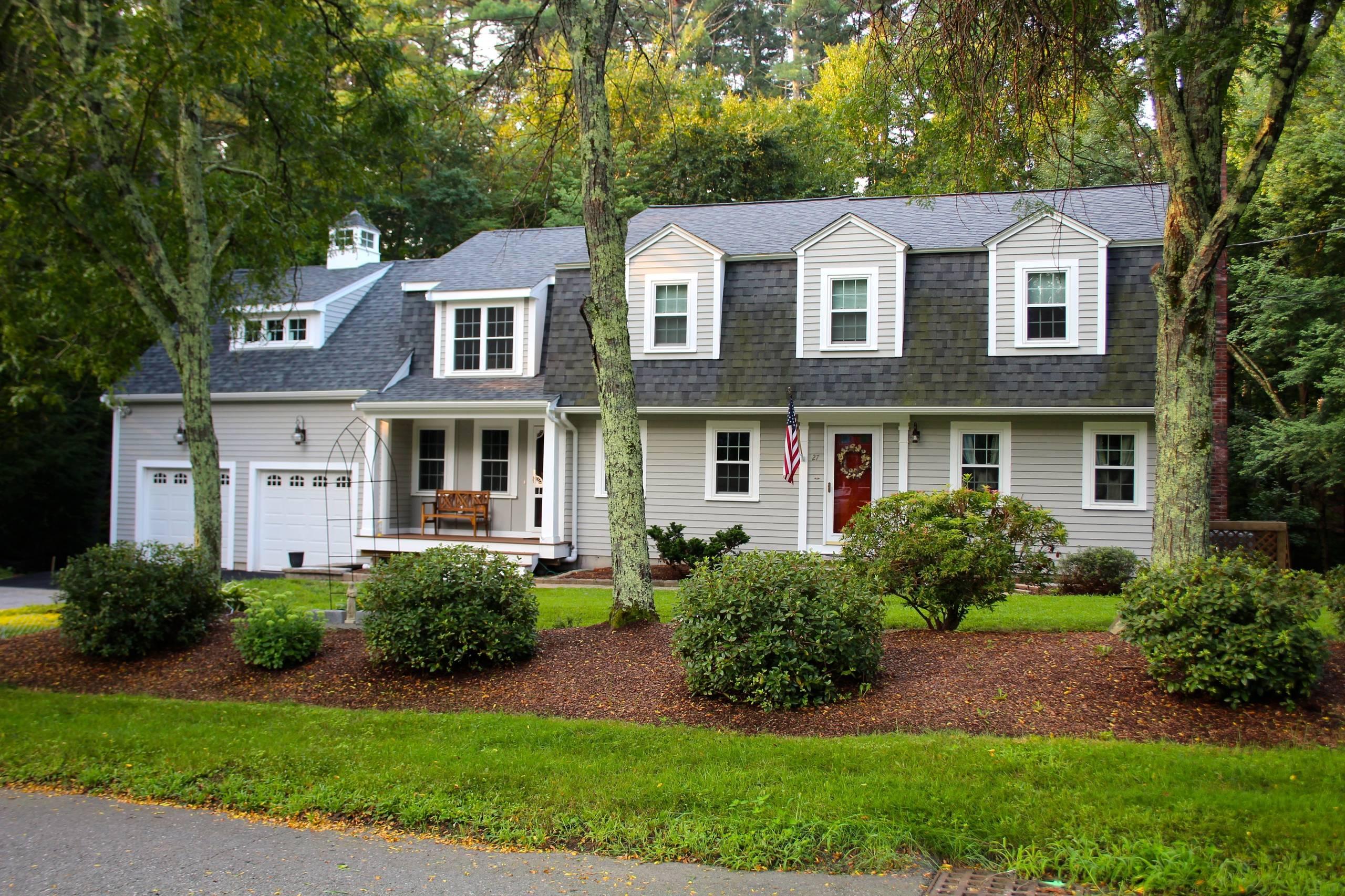 New England Farmhouse Takes Wing.