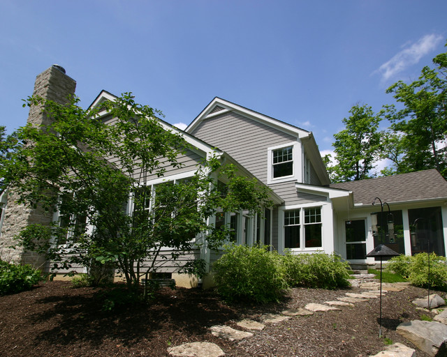 New England Style traditional-exterior