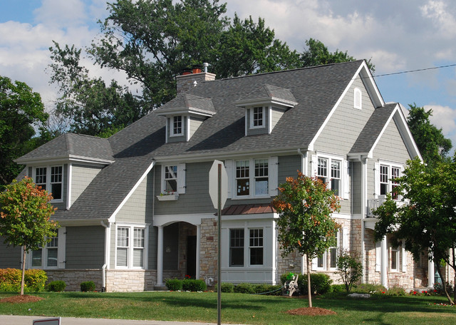 New England Traditional traditional-exterior