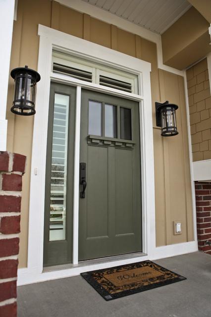 New Front Door Traditional Exterior Salt Lake City