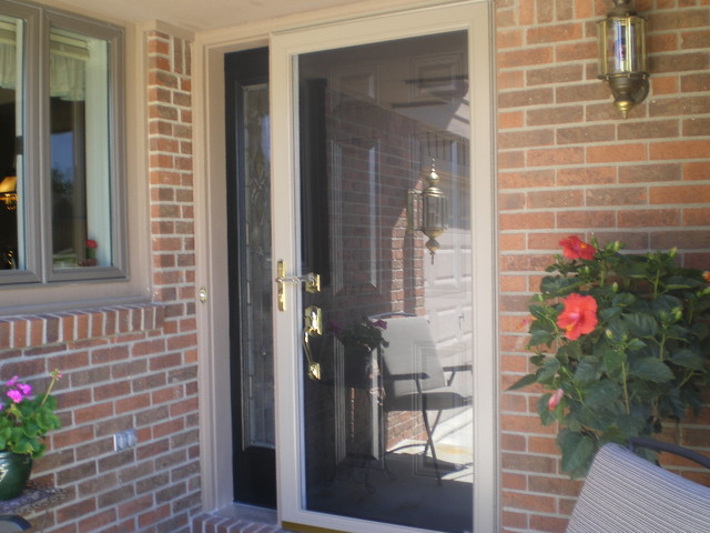 New Front Door Traditional Exterior Indianapolis