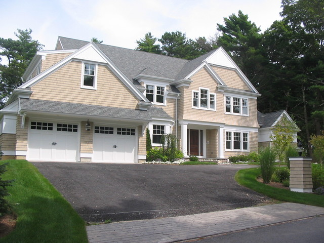New home cape cod traditional exterior boston by New homes cape cod