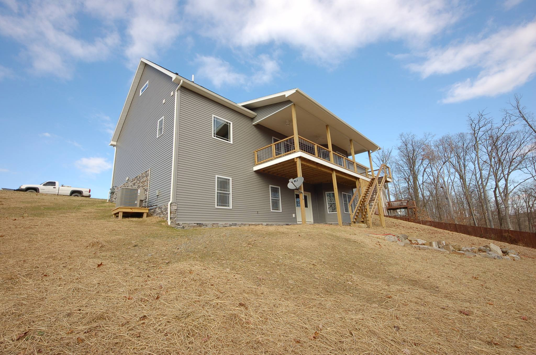 New Home Construction - on Morgantown hill