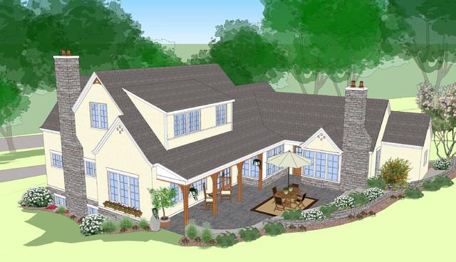 New Home Design traditional-exterior