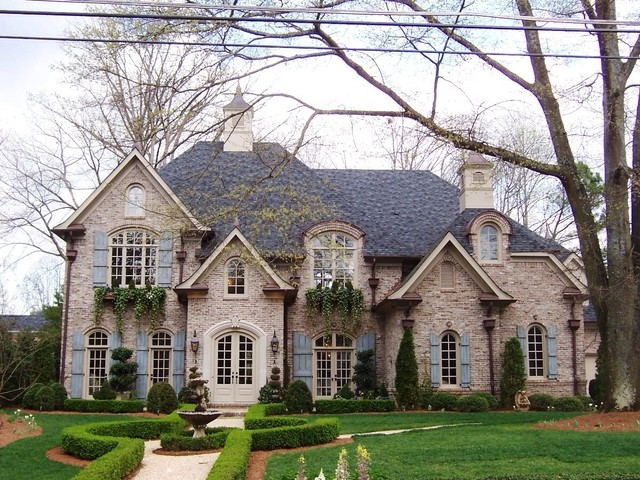 Nice New Home Exteriors Traditional Exterior