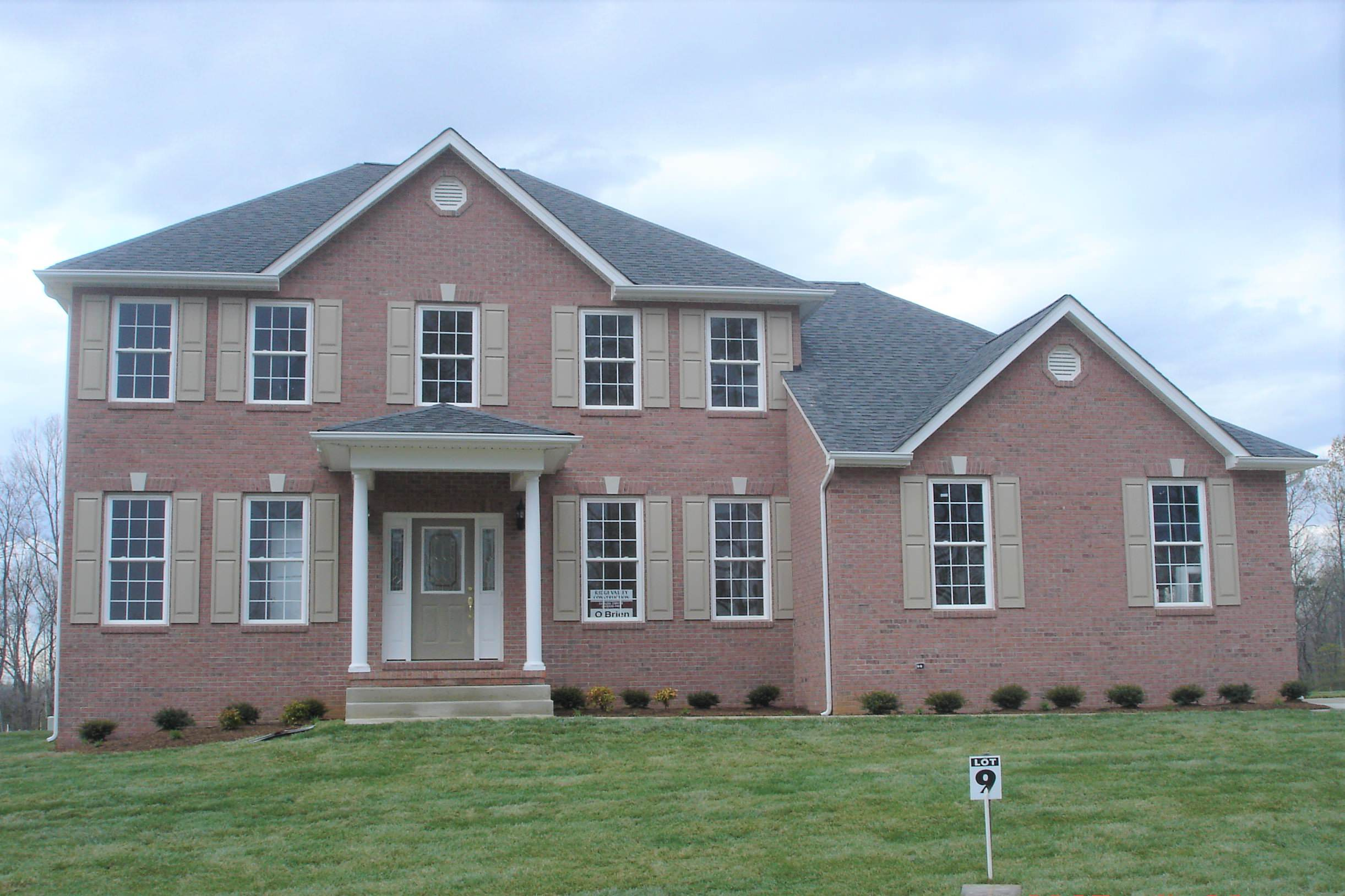 New Home Exteriors