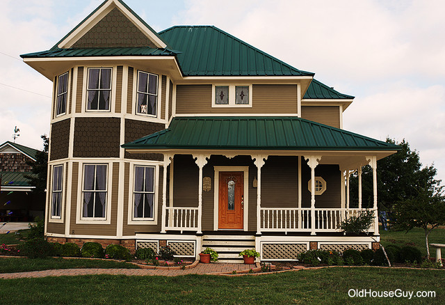 New house bad design exterior new york by old house for New old home plans