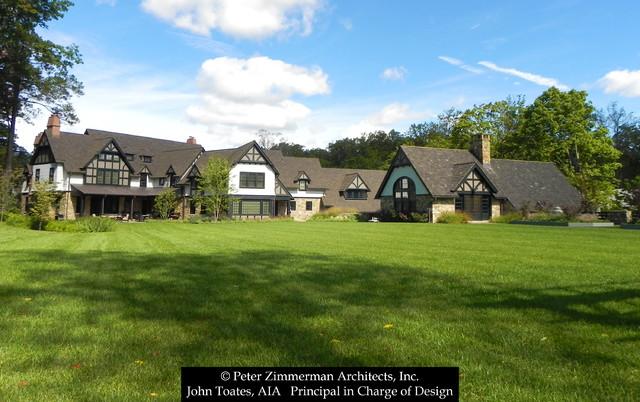 New House - Wayne, PA traditional-exterior