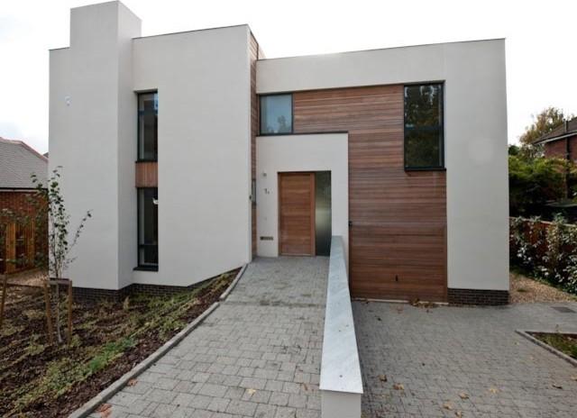New Malden House contemporary-exterior