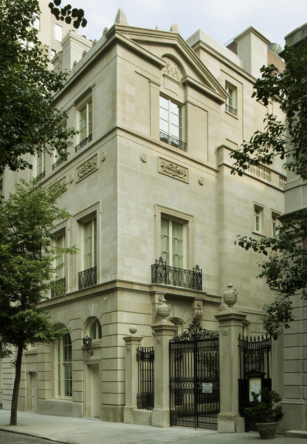New Manhattan Townhouse Traditional Exterior New
