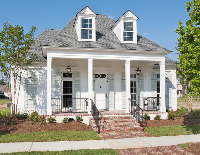 New orleans charm with a private courtyard traditional for New orleans style house plans