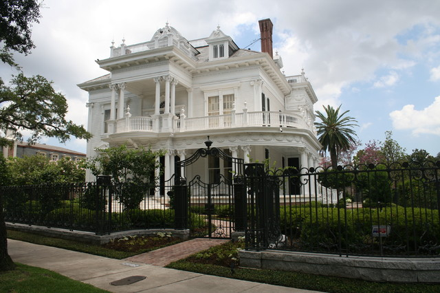New Orleans Estate Victorian Exterior