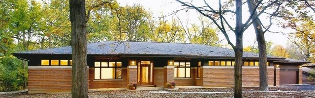New Prairie Style Ranch Modern Exterior Chicago By