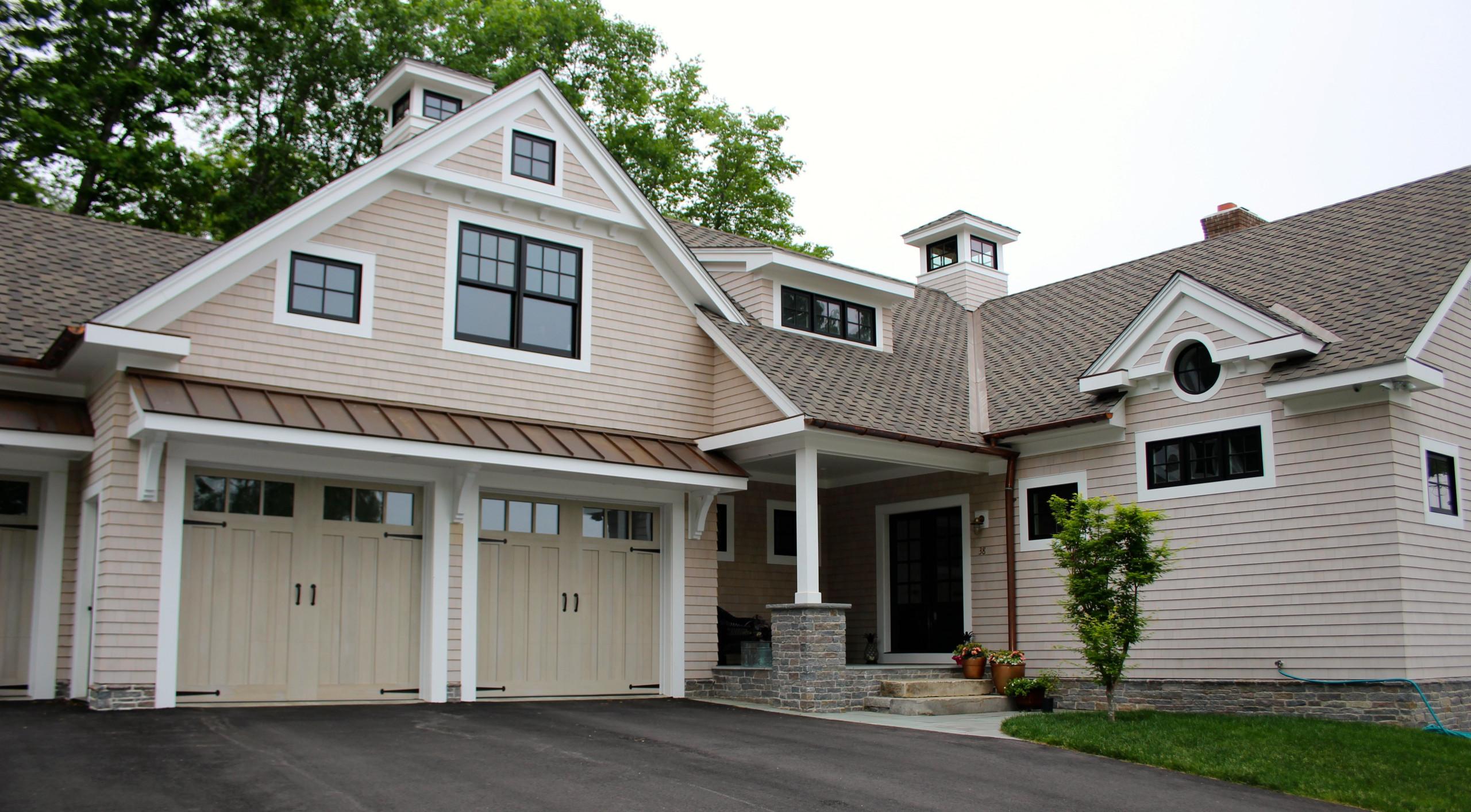 New Shingle Style Lakehouse