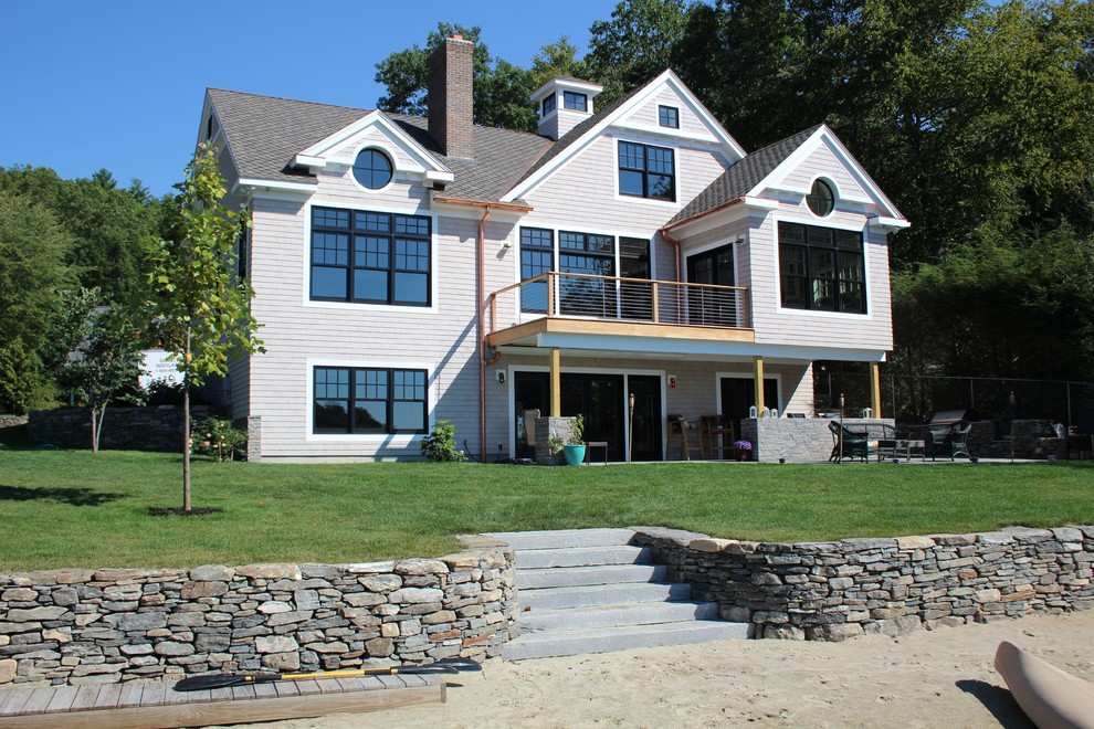 New Shingle Style Lakehouse
