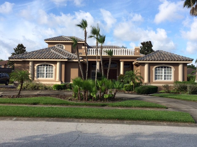New Tile Roof Tropical Exterior Other By Acoma