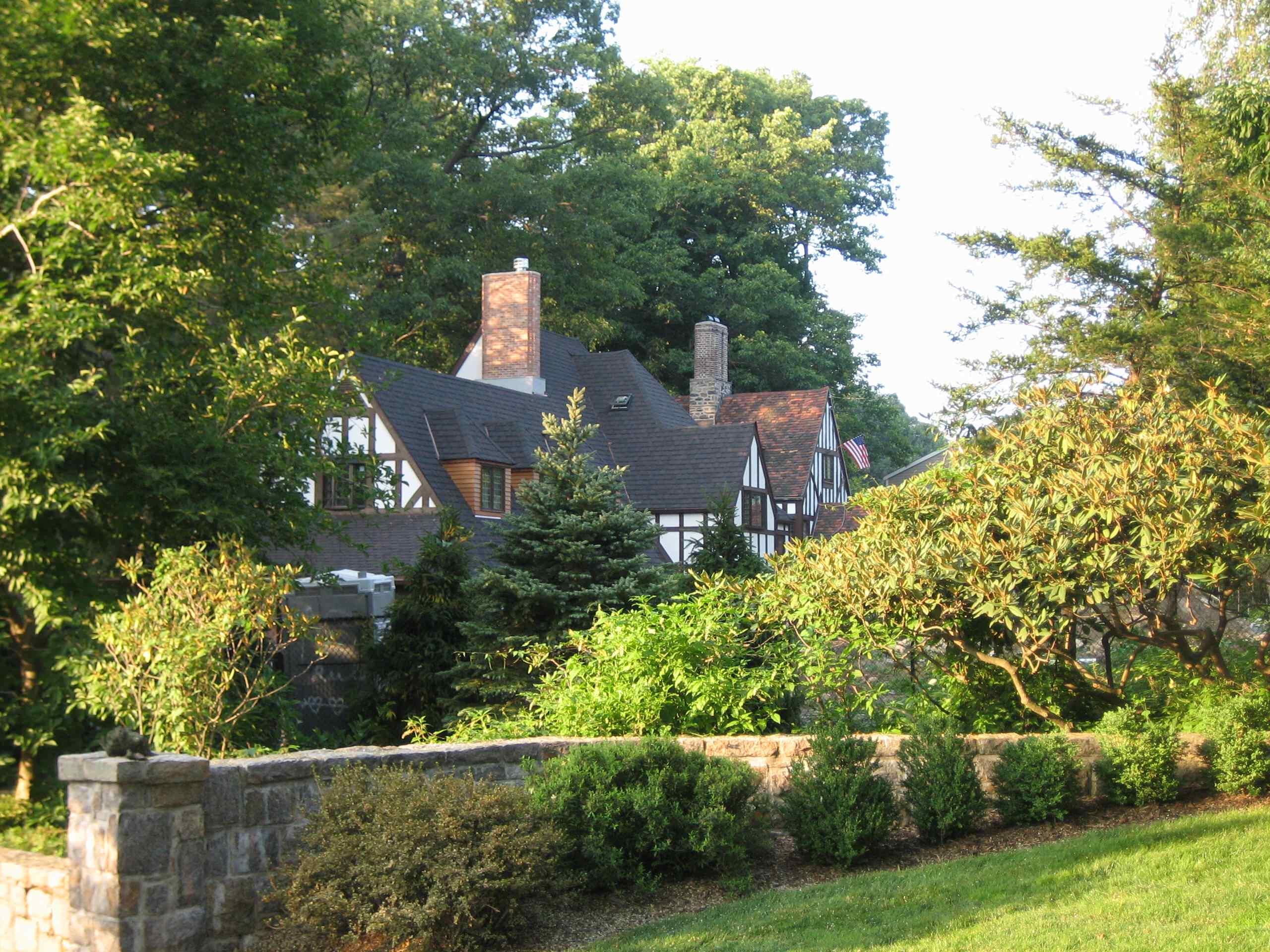 New Tudor Dobbs Ferry House