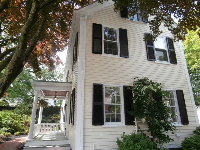 Newburyport ma james hardie siding with colorplus in sail - Best exterior paint for hardiplank siding ...