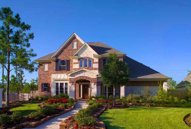 Newmark Homes Magnolia Plan Traditional Exterior Houston – Newmark Homes Magnolia Floor Plan
