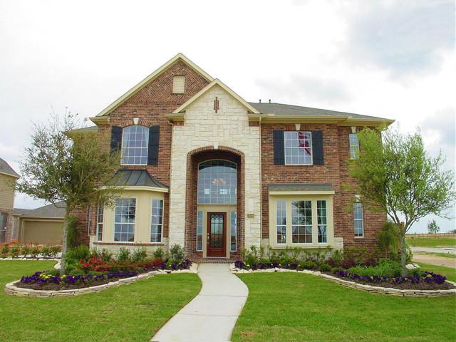 Newmark Homes Sherlock Plan Traditional Exterior Houston – Newmark Homes Magnolia Floor Plan