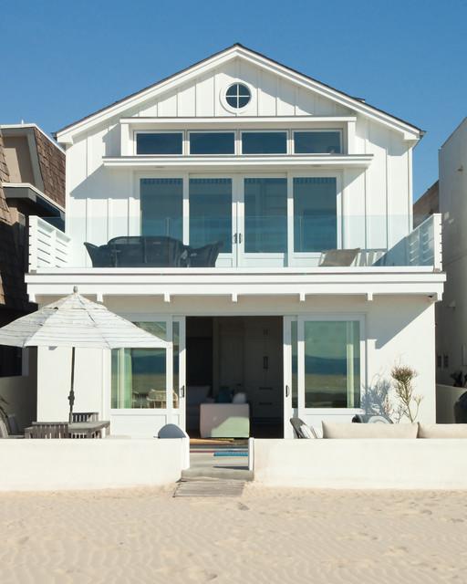 Newport Beach Ocean Front Style Exterior Orange