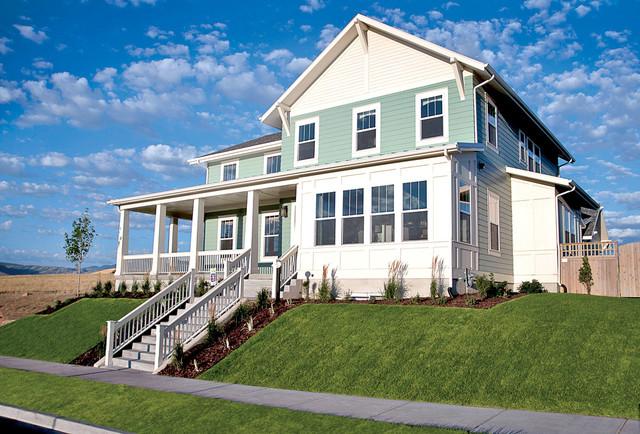 Newport model home for Rainey homes