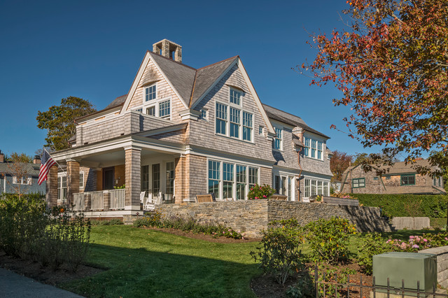 Newport Waterfront Residence - Coastal - Exterior ...