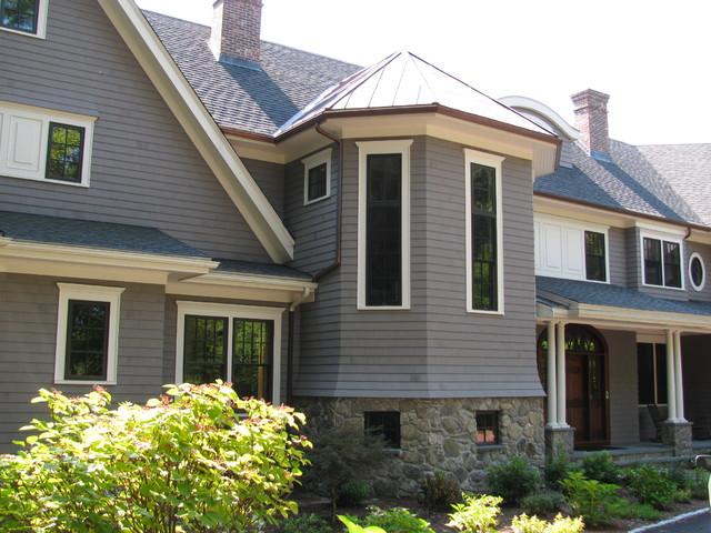 Newton House traditional-exterior