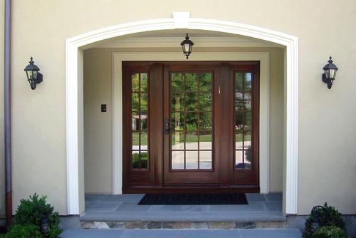 Newton residence 2 more info for Simpson doors glass