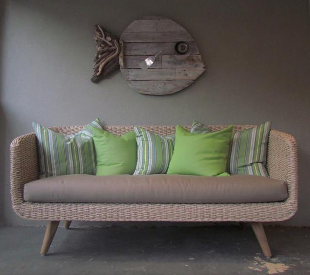 Newtown Home Osier Belle Tresse Sofa Scandinavian