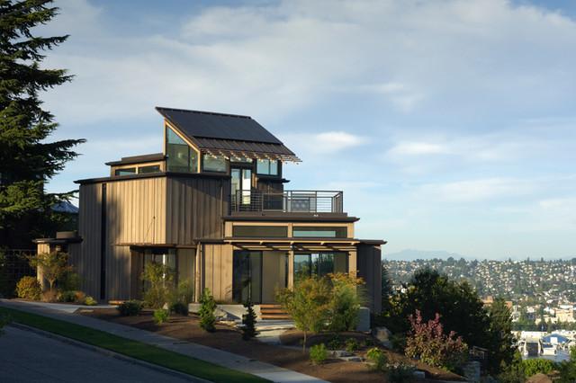 NEXTHouse – Seattle, WA « DAVID VANDERVORT ARCHITECTS modern-exterior