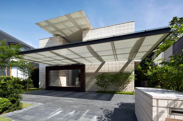 houzzbesuch ein hauch japanischer moderne in singapur. Black Bedroom Furniture Sets. Home Design Ideas