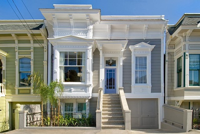 Noe Valley Three traditional-exterior