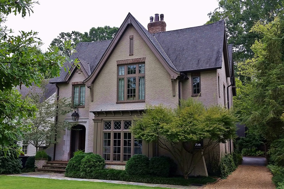 Inspiration for a timeless exterior home remodel in Birmingham