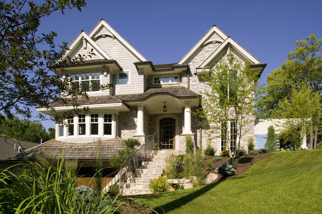 North Arm Bay Residence traditional-exterior