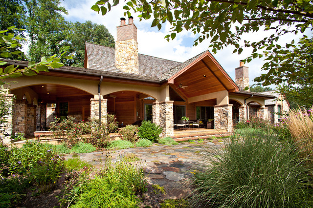 North carolina mountain homes traditional exterior for Mountain home architects