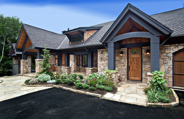 North Carolina Mountain Homes - Traditional - Exterior - Other ...