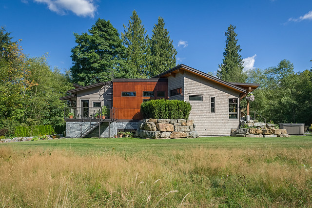 North Langley Residence contemporary-exterior