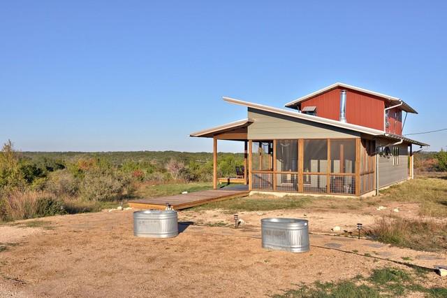 North Ridge Retreat rustic-exterior