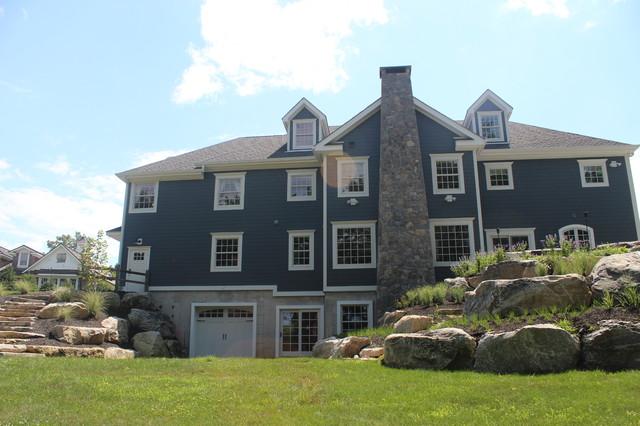 North Salem, NY farmhouse-exterior